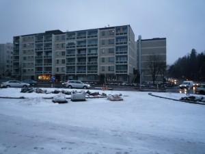 ヘルシンキ郊外2009年11月