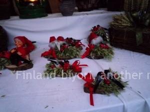 クリスマスマーケットの雑貨 Lohja