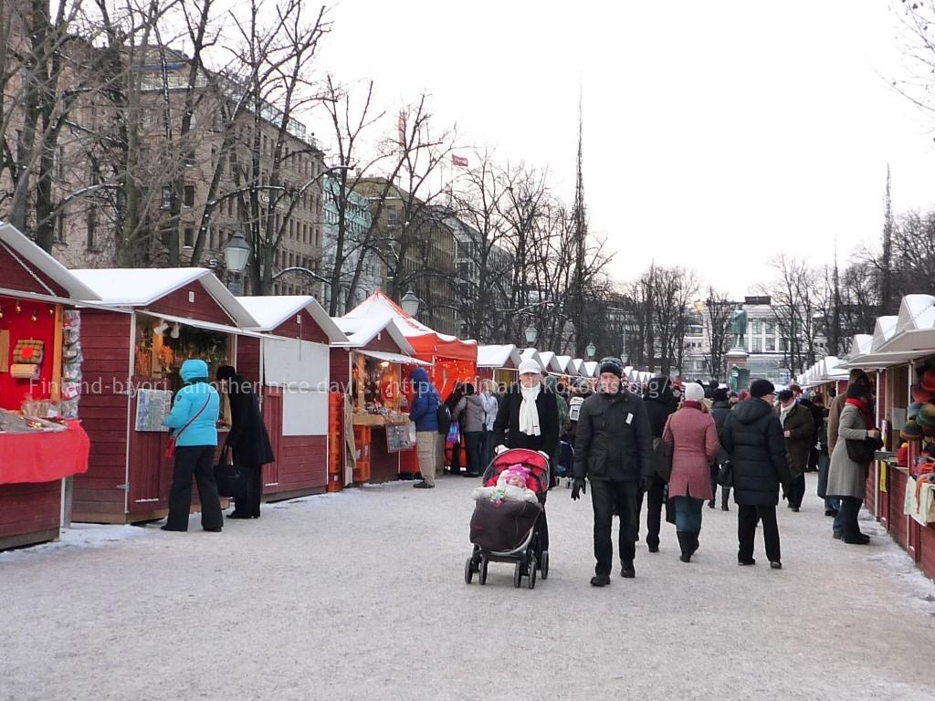 クリスマスマーケット エスプラーナディ公園