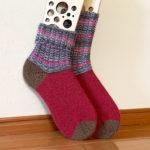 NOVITA NALLE で靴下を編む