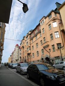 フィンランド暮らしの嫁日記-アパートホテルの近所