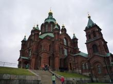 フィンランド暮らしの嫁日記-ウスペンスキー寺院の外観