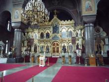 フィンランド暮らしの嫁日記-ウスペンスキー寺院の祭壇