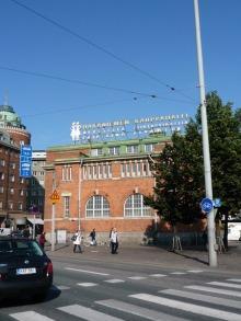 フィンランド暮らしの嫁日記-ハカニエミの店内マーケット