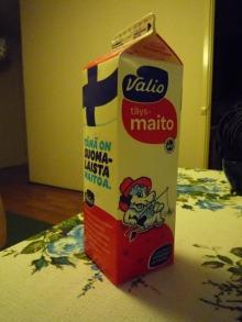 フィンランド暮らしの嫁日記-牛乳