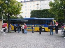 フィンランド暮らしの嫁日記-IKEAバス