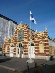 フィンランド暮らしの嫁日記-オールドマーケットホール