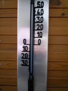 フィンランド暮らしの嫁日記-気温プラス2度