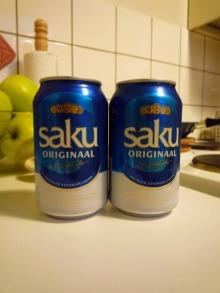 フィンランド暮らしの嫁日記-SAKUビール