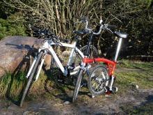 フィンランド暮らしの嫁日記-自転車たち