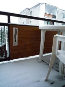 フィンランド暮らしの嫁日記-積雪