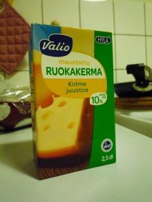 フィンランド暮らしの嫁日記-料理用クリーム