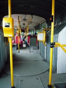 フィンランド暮らしの嫁日記-バスの中