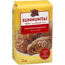 フィンランド暮らしの嫁日記-強力粉(菓子パン)
