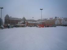 フィンランド暮らしの嫁日記-雪のハカニエミ
