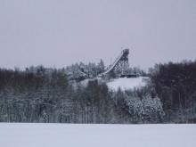 フィンランド暮らしの嫁日記-ジャンプ台