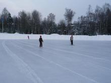 フィンランド暮らしの嫁日記-アイススケート