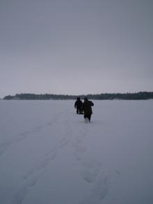 フィンランド暮らしの嫁日記-海の上