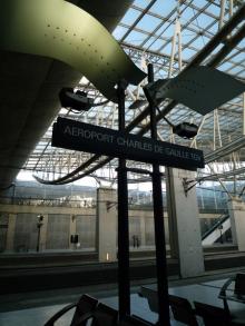 フィンランド暮らしの嫁日記-シャルルドゴール空港駅