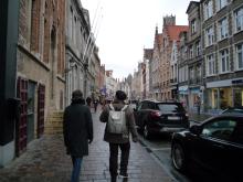 フィンランド暮らしの嫁日記-ブルッヘの街並み