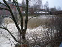 フィンランド暮らしの嫁日記-水しぶき