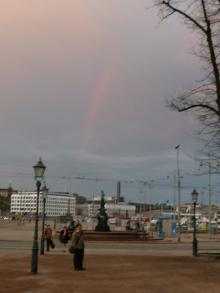 フィンランド暮らしの嫁日記-虹