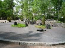 フィンランド暮らしの嫁日記-日本的っぽい庭園