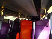 フィンランド暮らしの嫁日記-TGVの車内