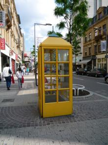 フィンランド暮らしの嫁日記-電話ボックス