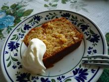 フィンランド暮らしの嫁日記-はちみつレモンパウンドケーキ