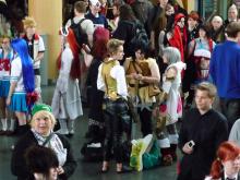 フィンランド暮らしの嫁日記-会場の中