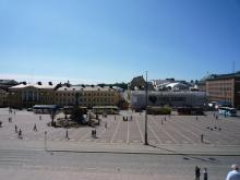 フィンランド暮らしの嫁日記-セナーテ広場