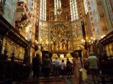 フィンランド暮らしの嫁日記-聖マリア教会内部
