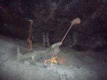 フィンランド暮らしの嫁日記-岩塩の彫像
