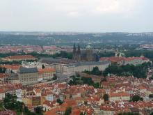 フィンランド暮らしの嫁日記-プラハ城方面
