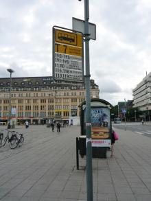 フィンランド暮らしの嫁日記-バス停