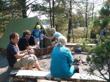 フィンランド暮らしの嫁日記-キャンプ
