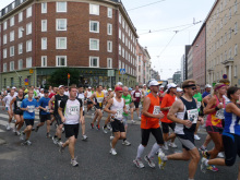 フィンランド暮らしの嫁日記-Helsinki City marathon 2010